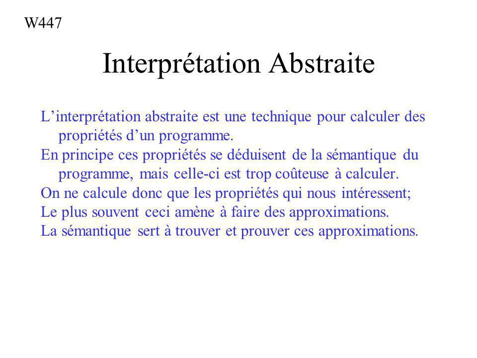Interprétation Abstraite