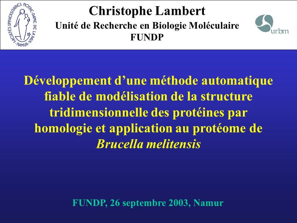 Unité de Recherche en Biologie Moléculaire