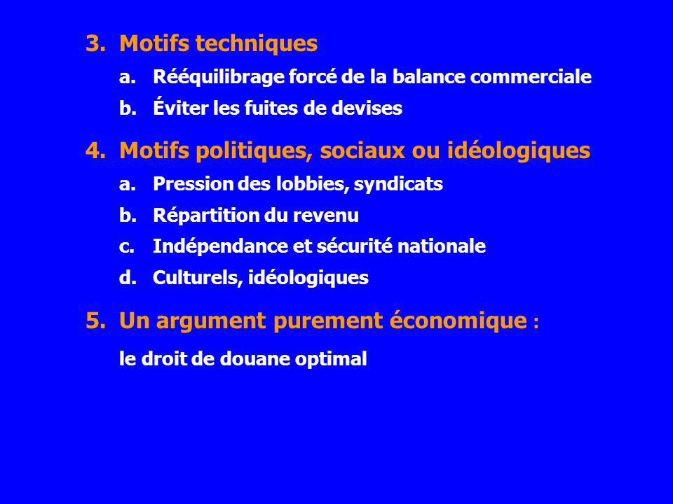 Motifs politiques, sociaux ou idéologiques