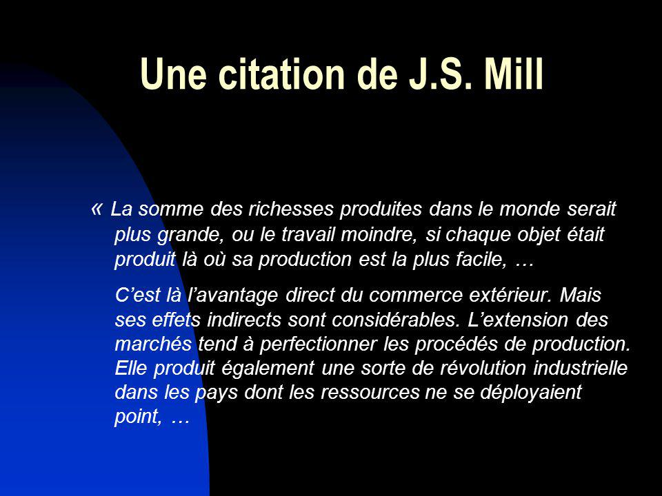 Une citation de J.S. Mill