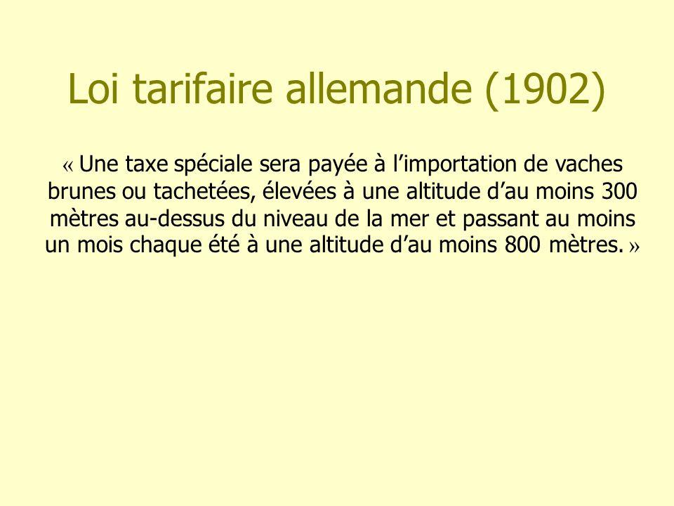 Loi tarifaire allemande (1902)