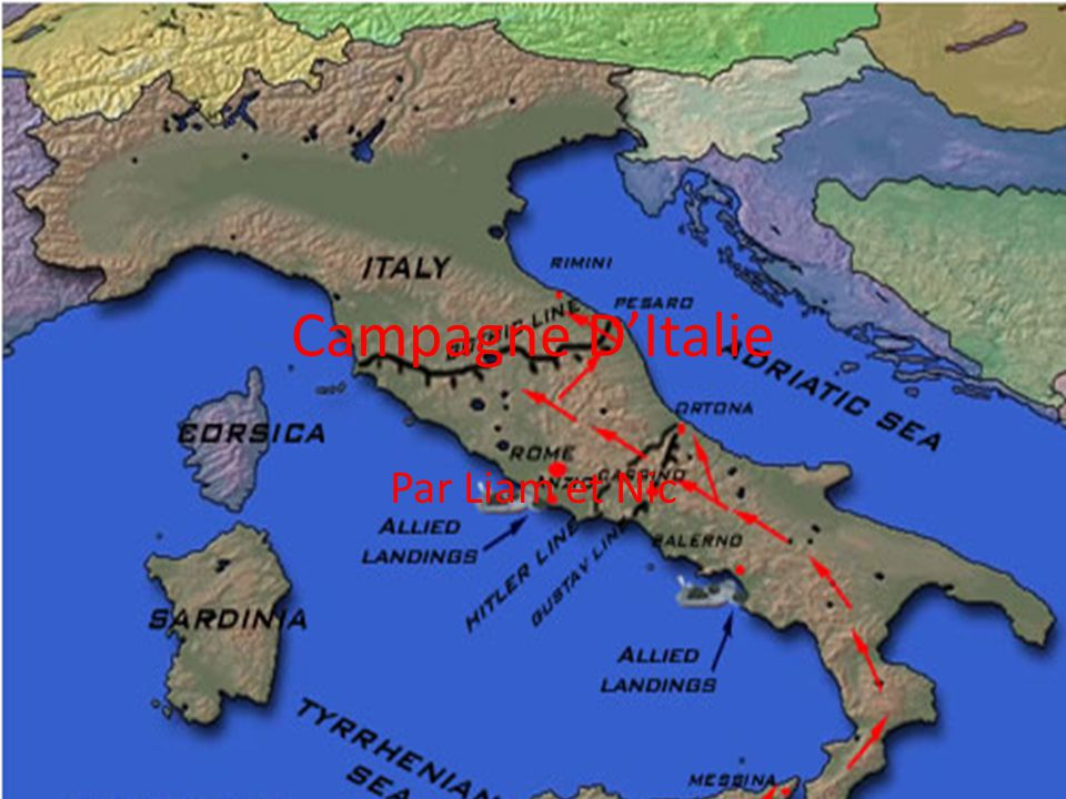 Campagne D'Italie Par Liam et Nic