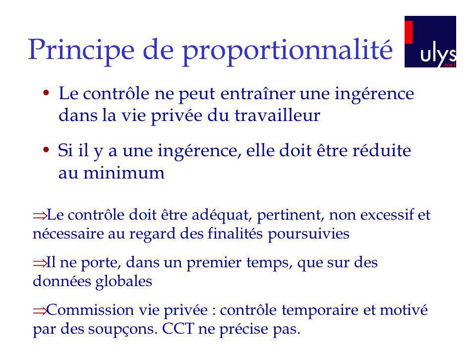 Principe de proportionnalité