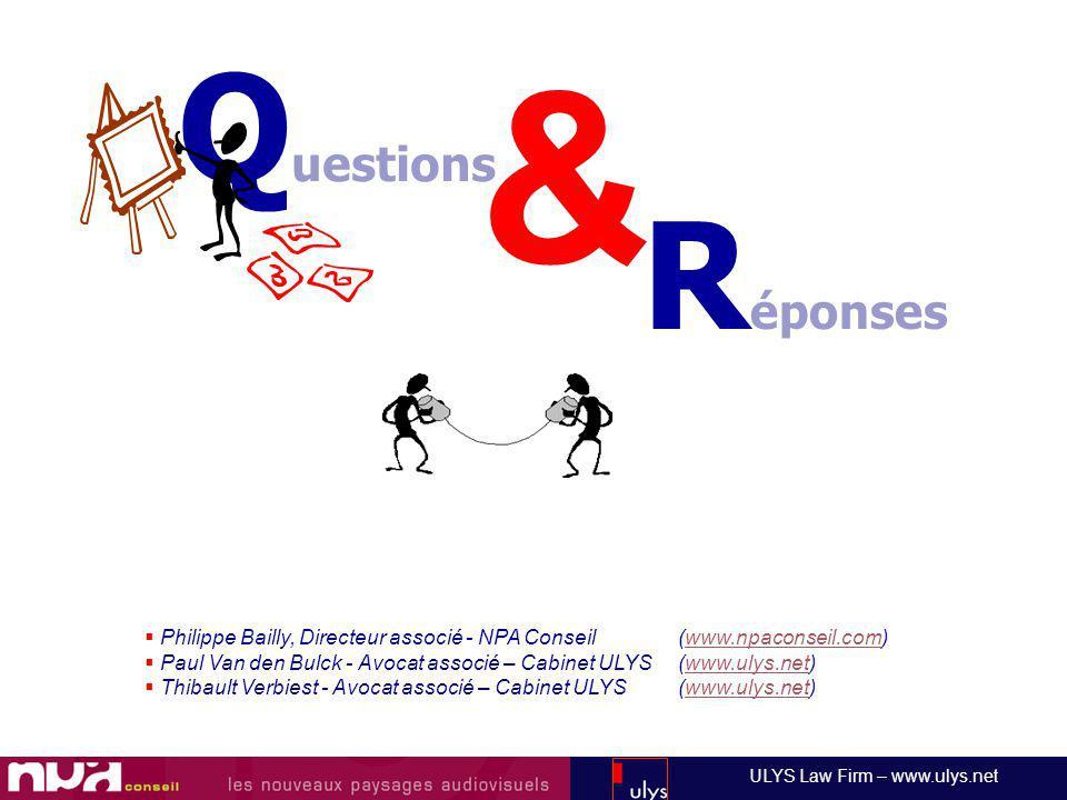 & Questions. Réponses. Philippe Bailly, Directeur associé - NPA Conseil (www.npaconseil.com)