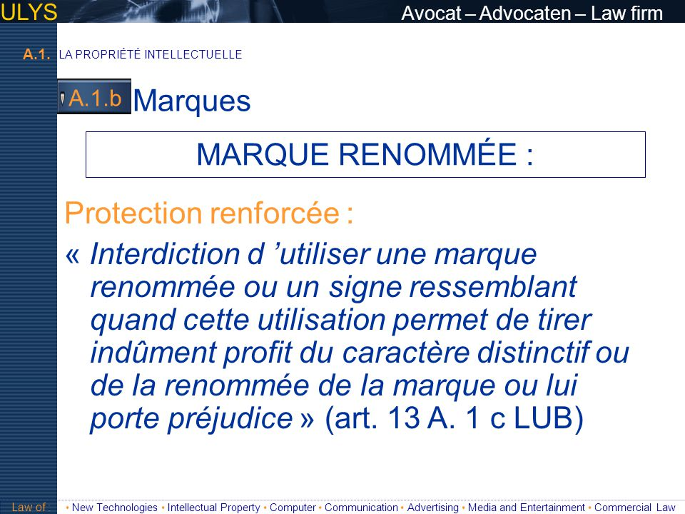 Protection renforcée :