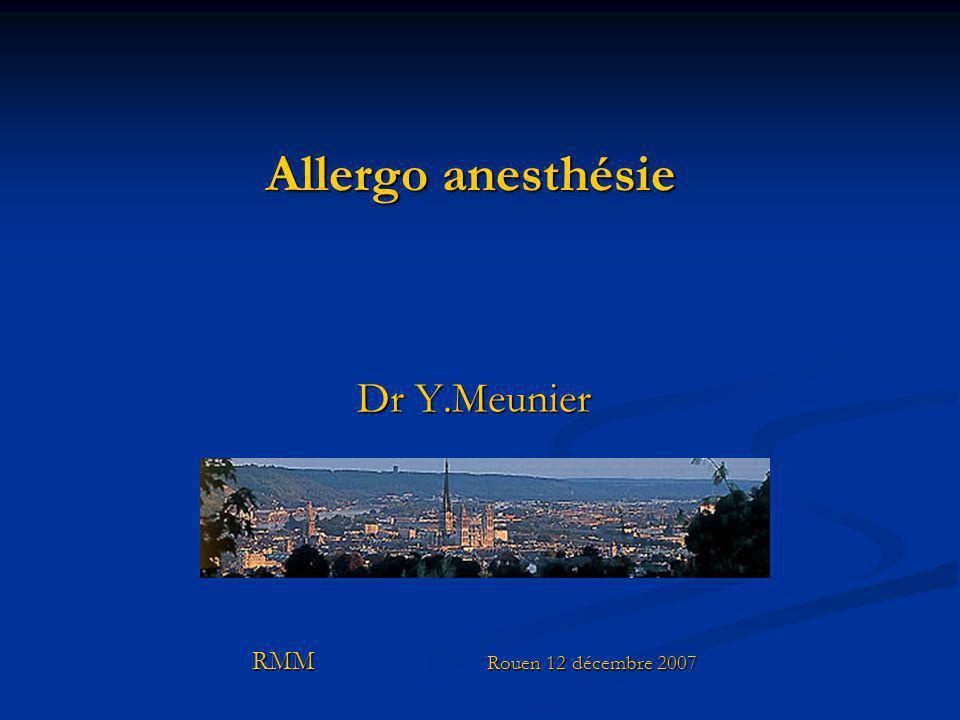 Dr Y.Meunier RMM Rouen 12 décembre 2007