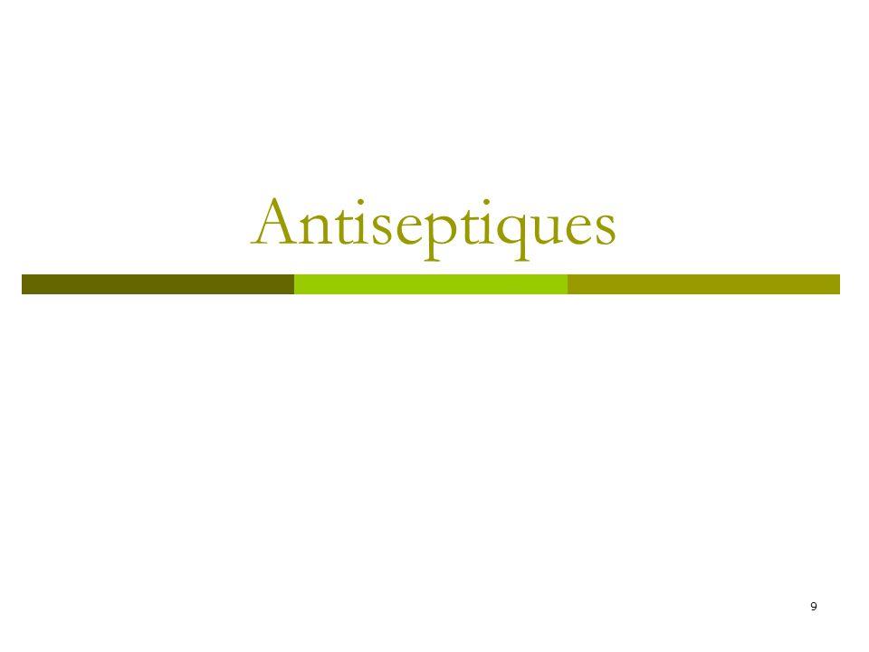 Antiseptiques