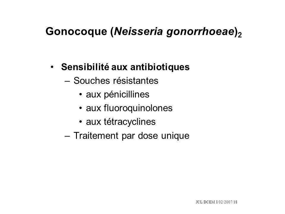 Gonocoque (Neisseria gonorrhoeae)2