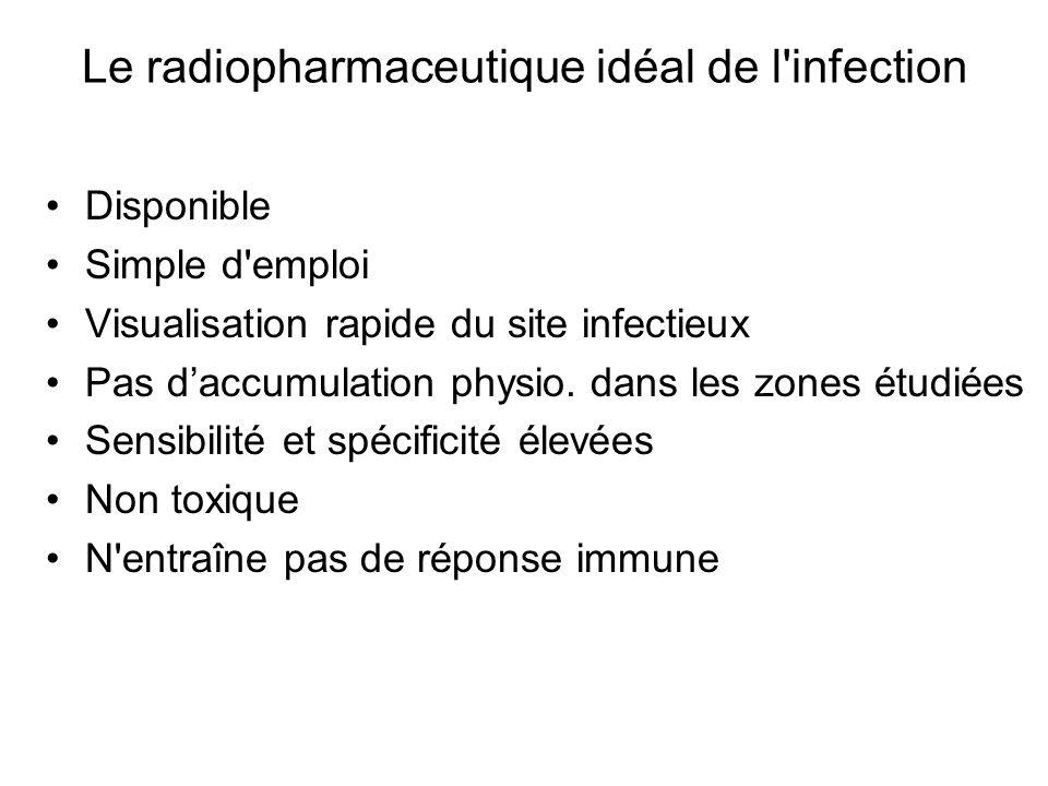 Le radiopharmaceutique idéal de l infection
