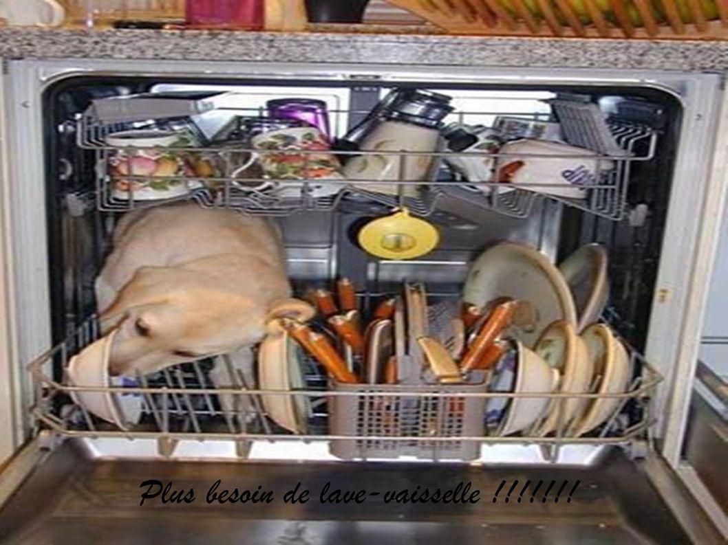 Plus besoin de lave-vaisselle !!!!!!!