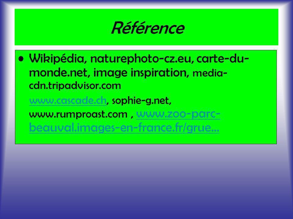 Référence Wikipédia, naturephoto-cz.eu, carte-du-monde.net, image inspiration, media-cdn.tripadvisor.com.