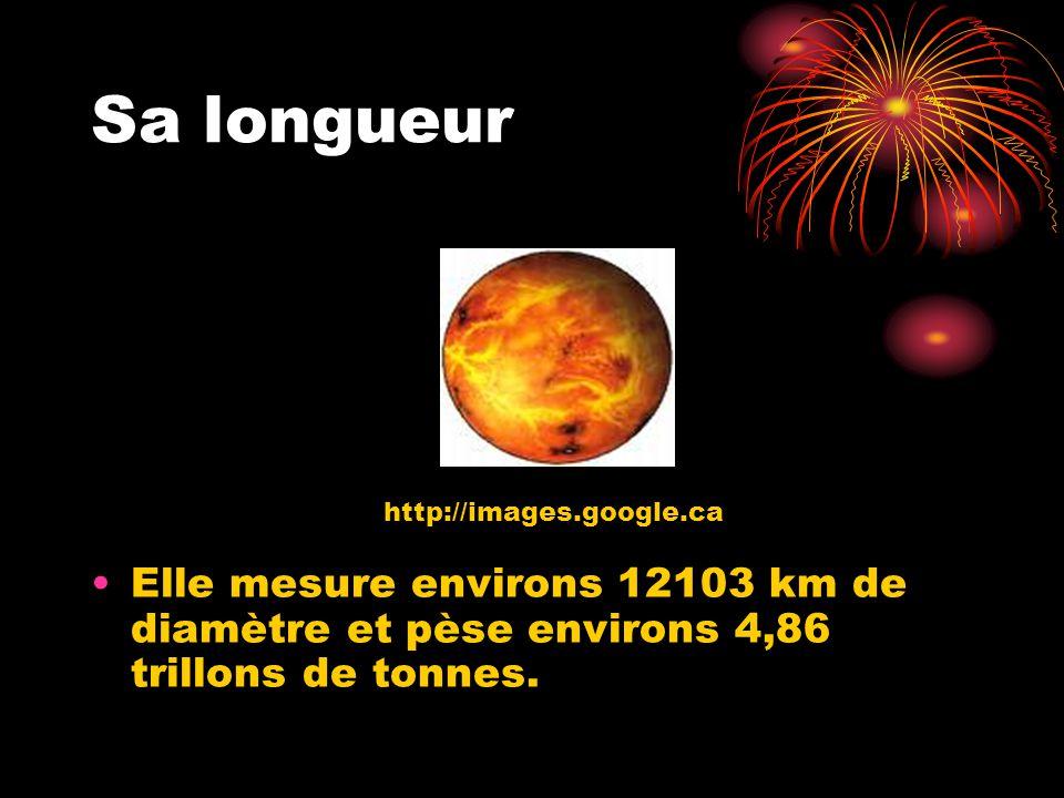 Sa longueur http://images.google.ca.