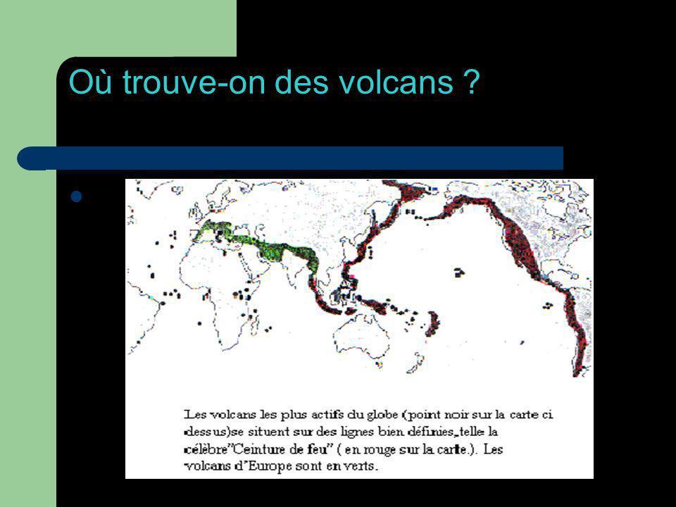 Où trouve-on des volcans