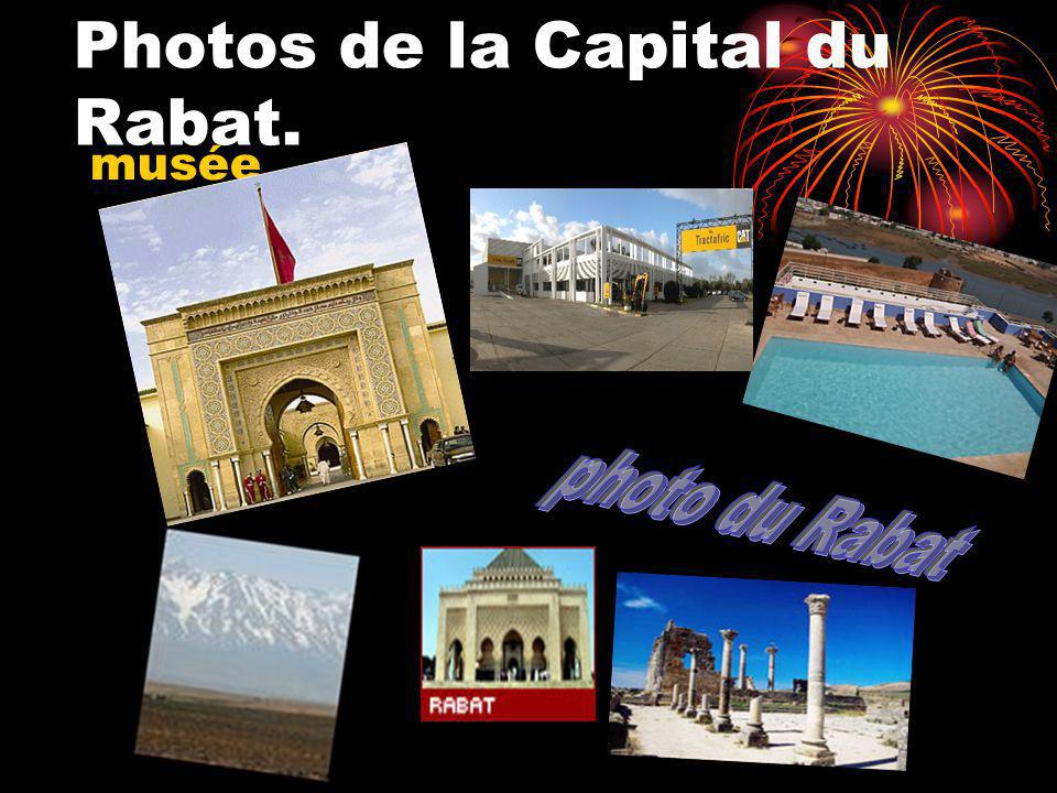 Photos de la Capital du Rabat.