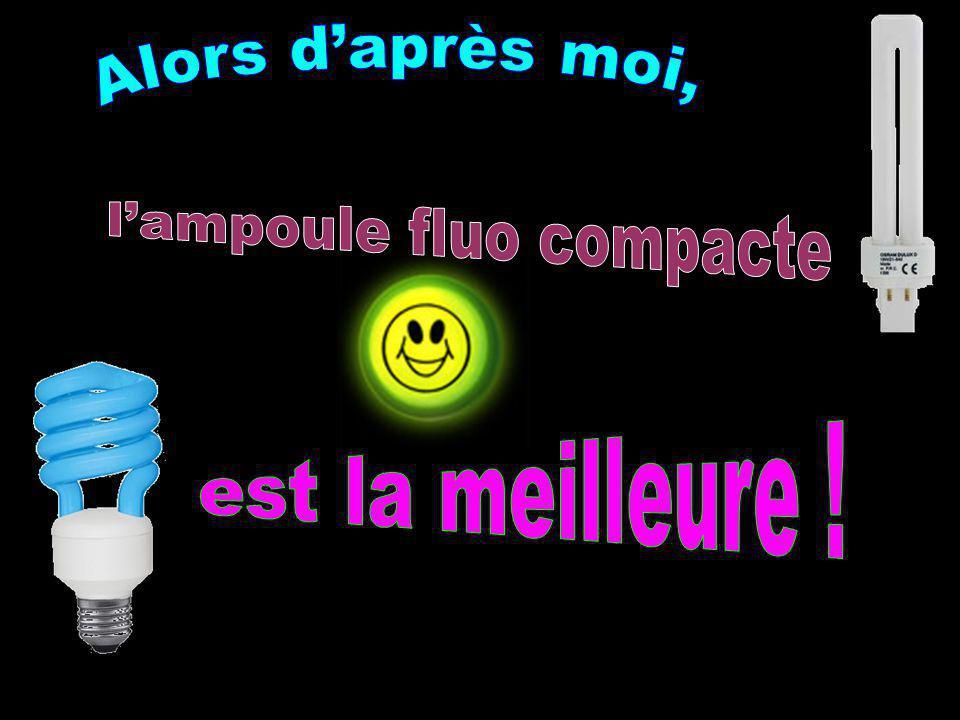 l'ampoule fluo compacte