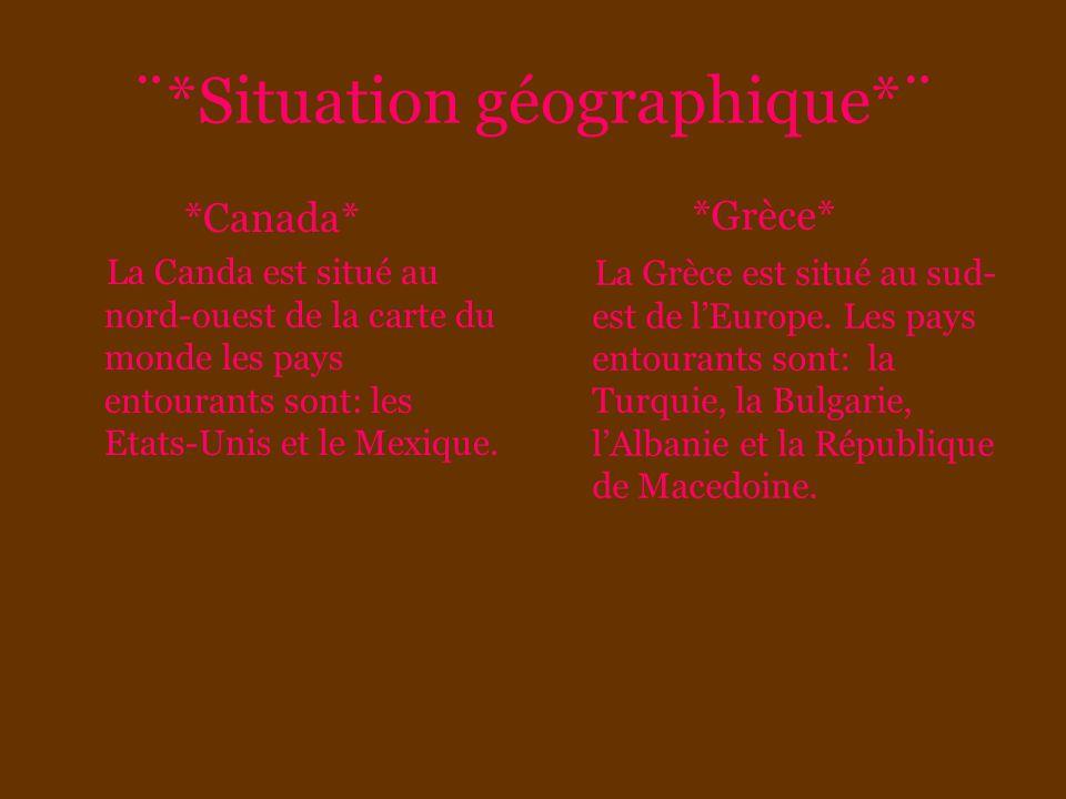 ¨*Situation géographique*¨