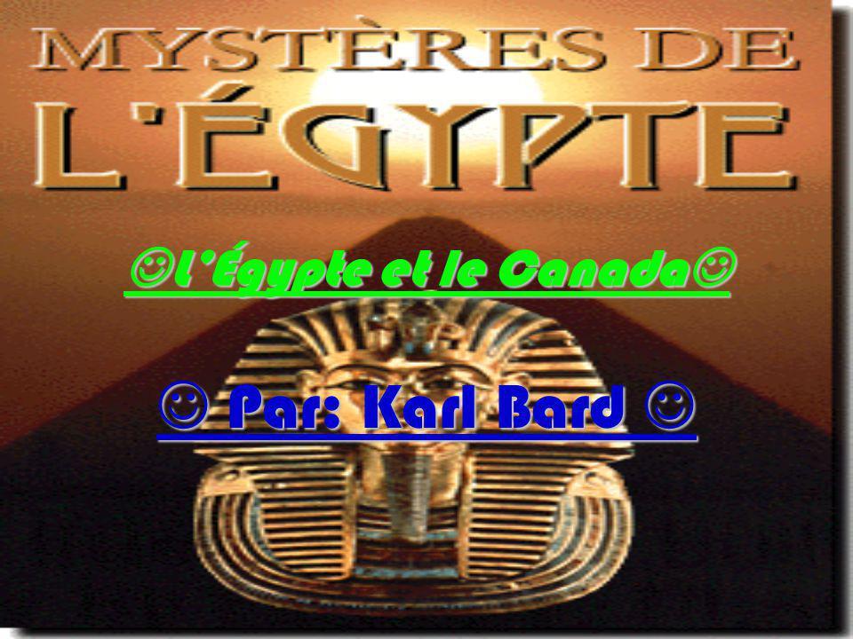 L'Égypte et le Canada