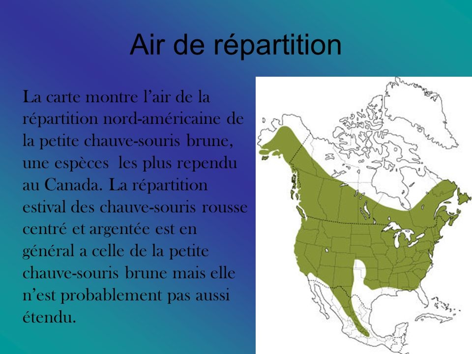 Air de répartition