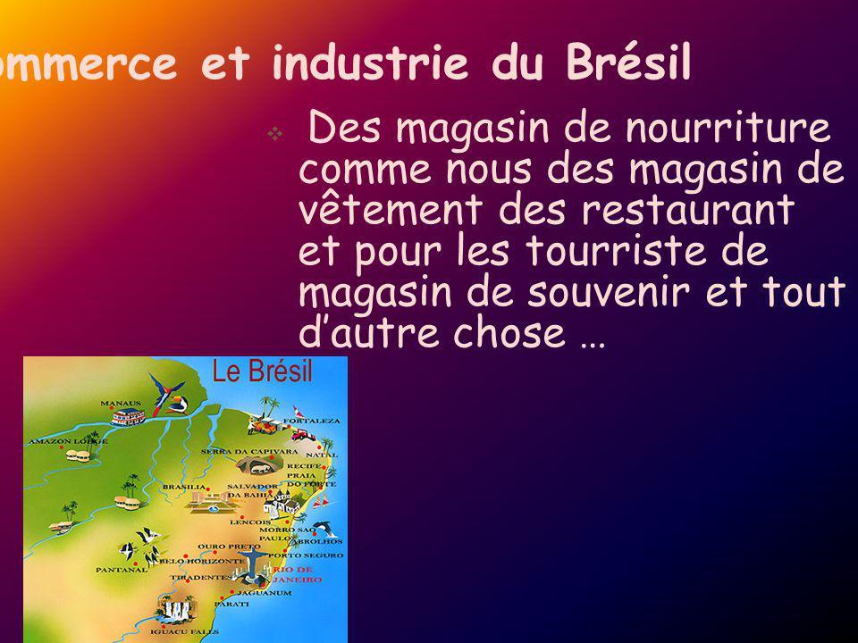Commerce et industrie du Brésil