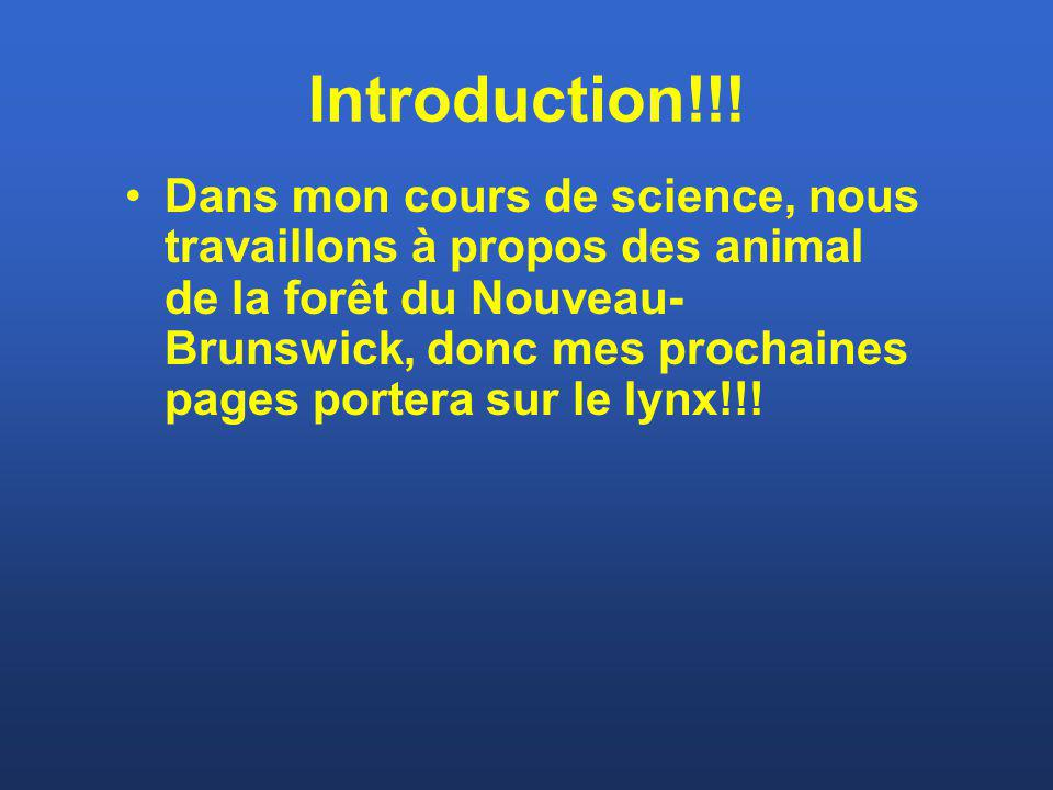 Introduction!!!