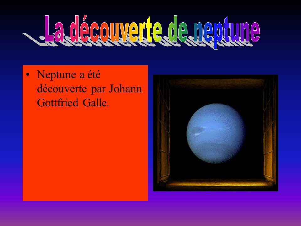 La découverte de neptune