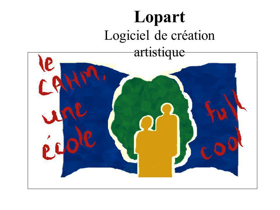 Logiciel de création artistique