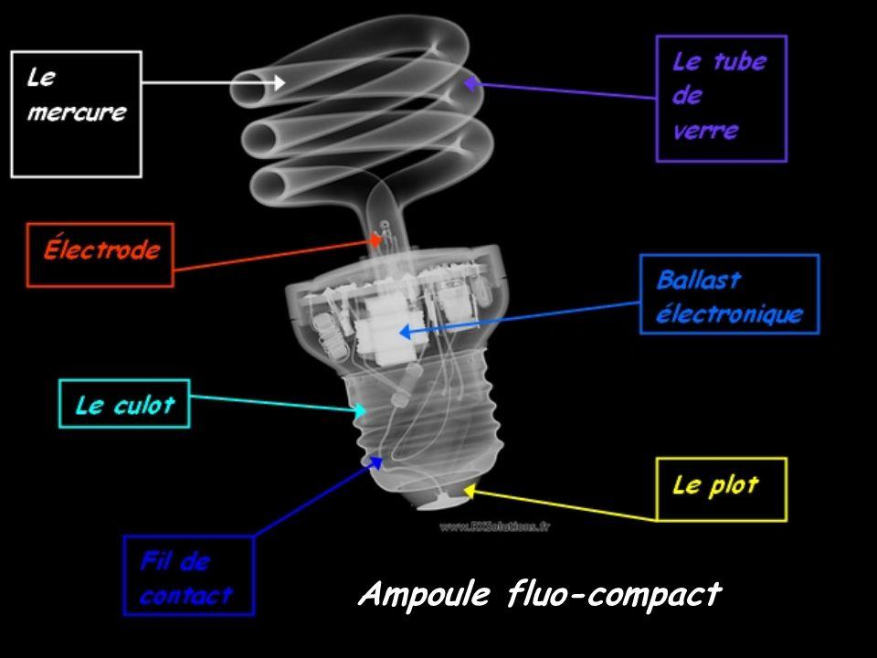 Ampoule fluo-compact
