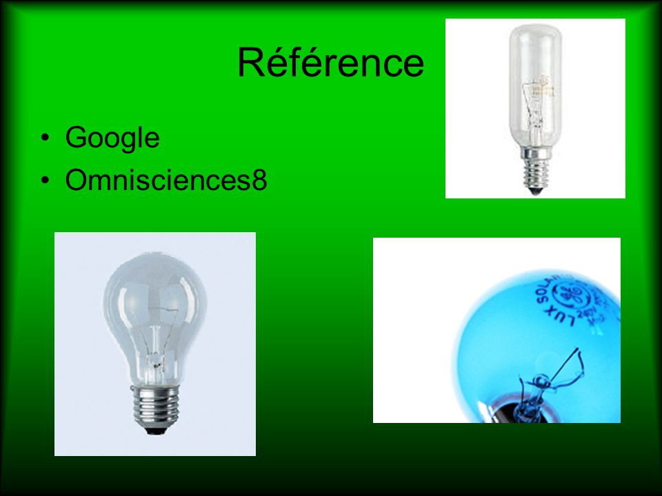 Référence Google Omnisciences8