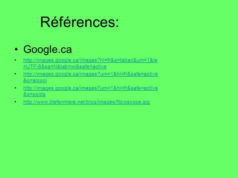 Références: Google.ca. http://images.google.ca/images hl=fr&q=tabac&um=1&ie=UTF-8&sa=N&tab=wi&safe=active.
