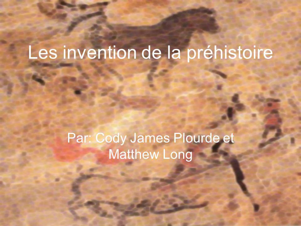 Les invention de la préhistoire