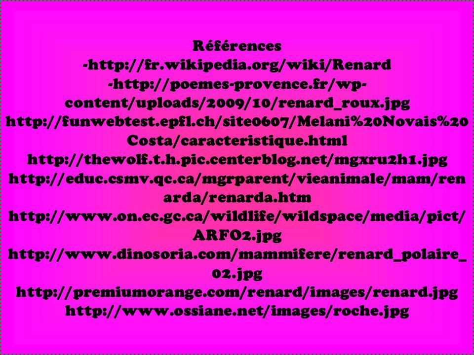 Références -http://fr. wikipedia