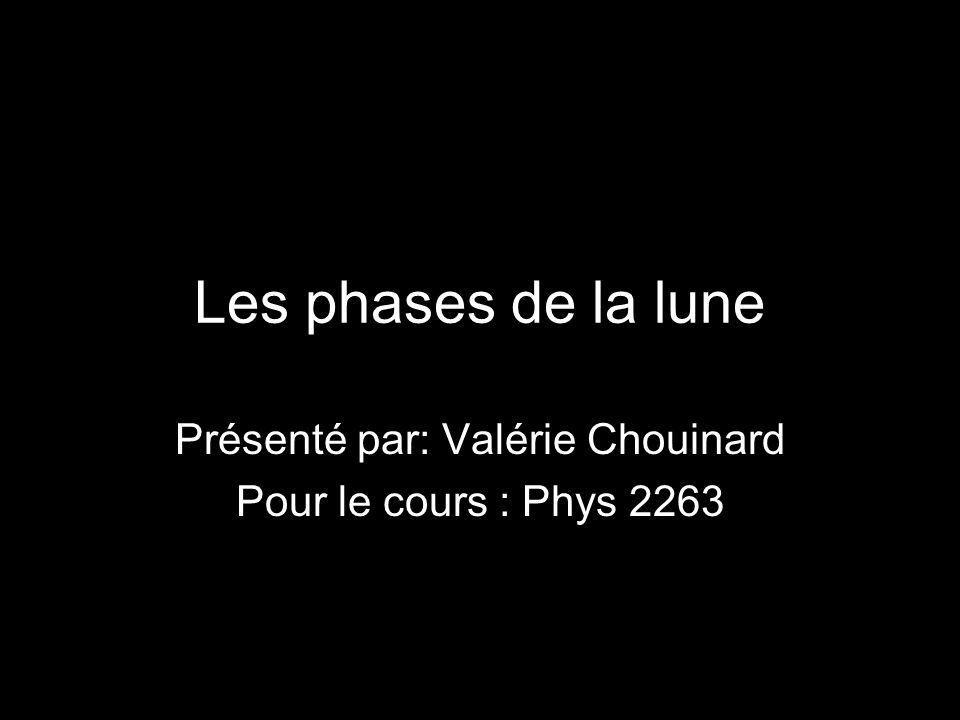 Présenté par: Valérie Chouinard Pour le cours : Phys 2263