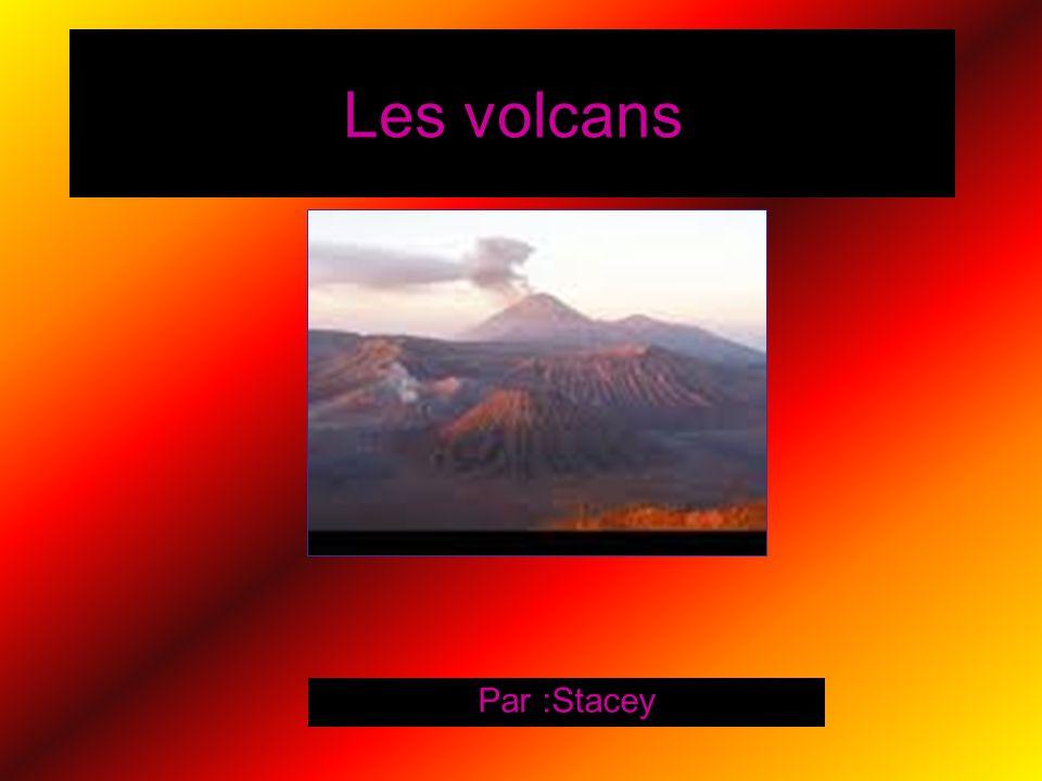 Les volcans Par :Stacey