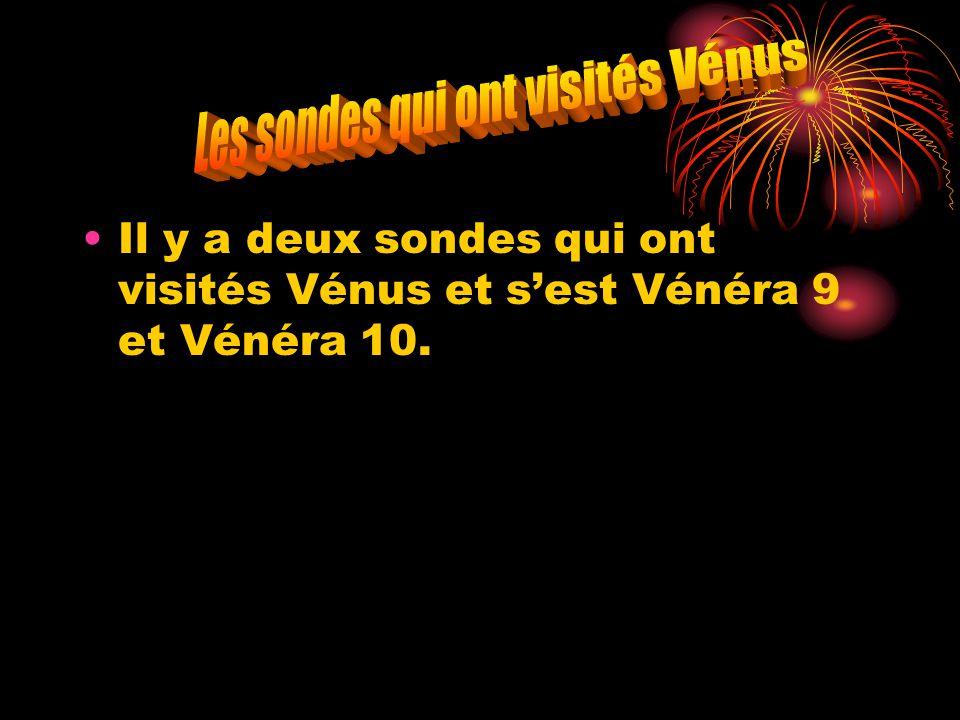 Les sondes qui ont visités Vénus