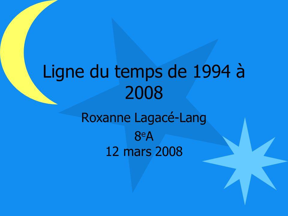 Roxanne Lagacé-Lang 8eA 12 mars 2008