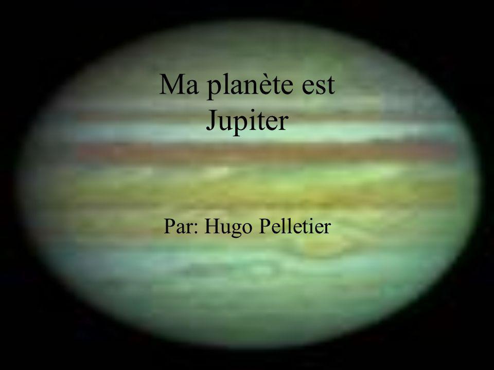 Ma planète est Jupiter Par: Hugo Pelletier