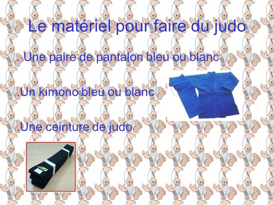 Le matériel pour faire du judo