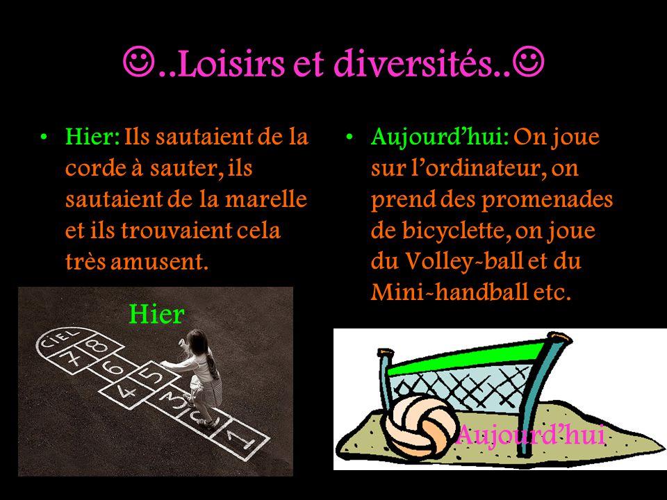 ..Loisirs et diversités..