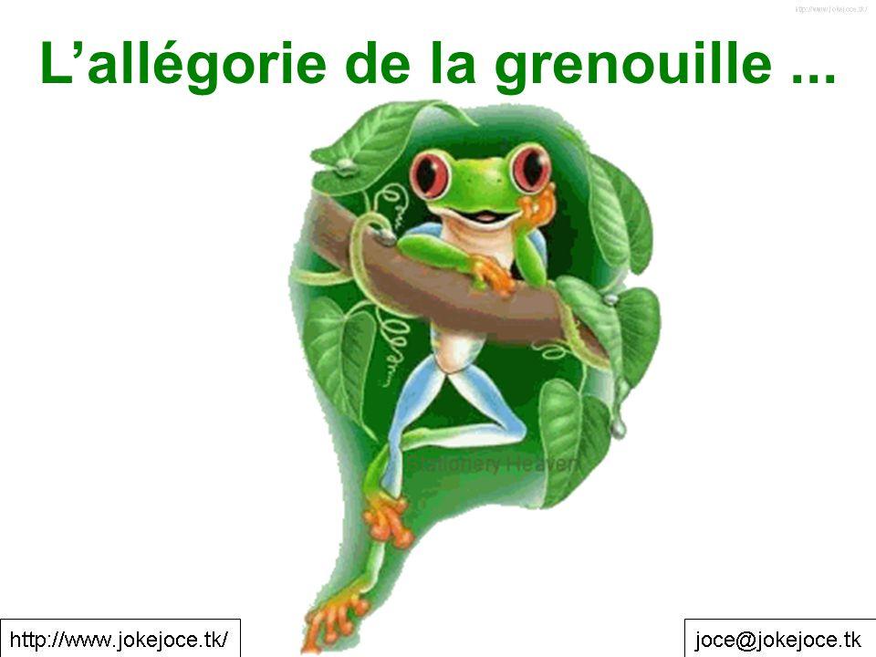 L'allégorie de la grenouille ...