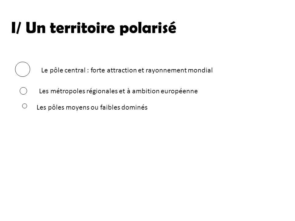 I/ Un territoire polarisé