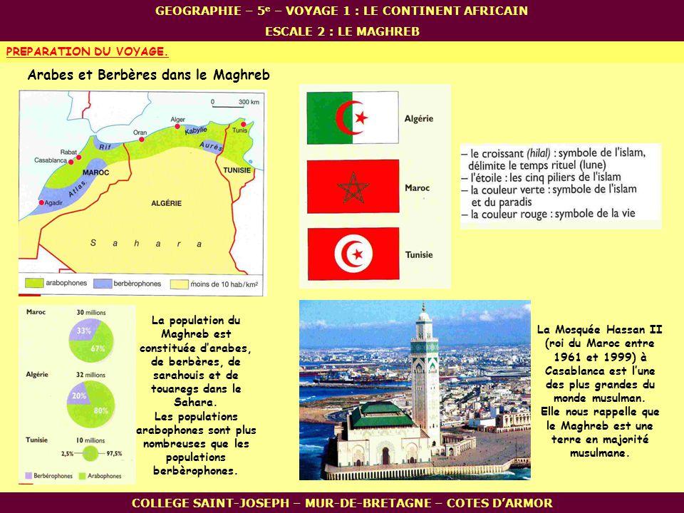 Arabes et Berbères dans le Maghreb