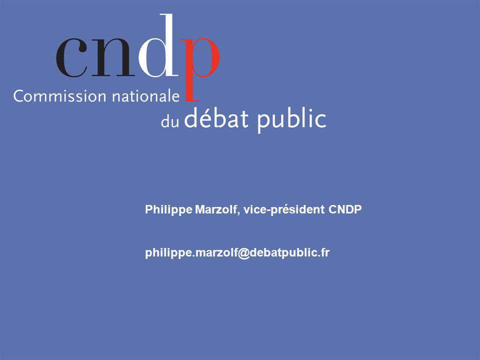 Philippe Marzolf, vice-président CNDP philippe.marzolf@debatpublic.fr