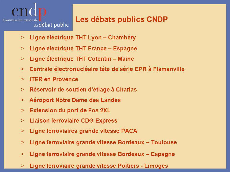 Les débats publics CNDP