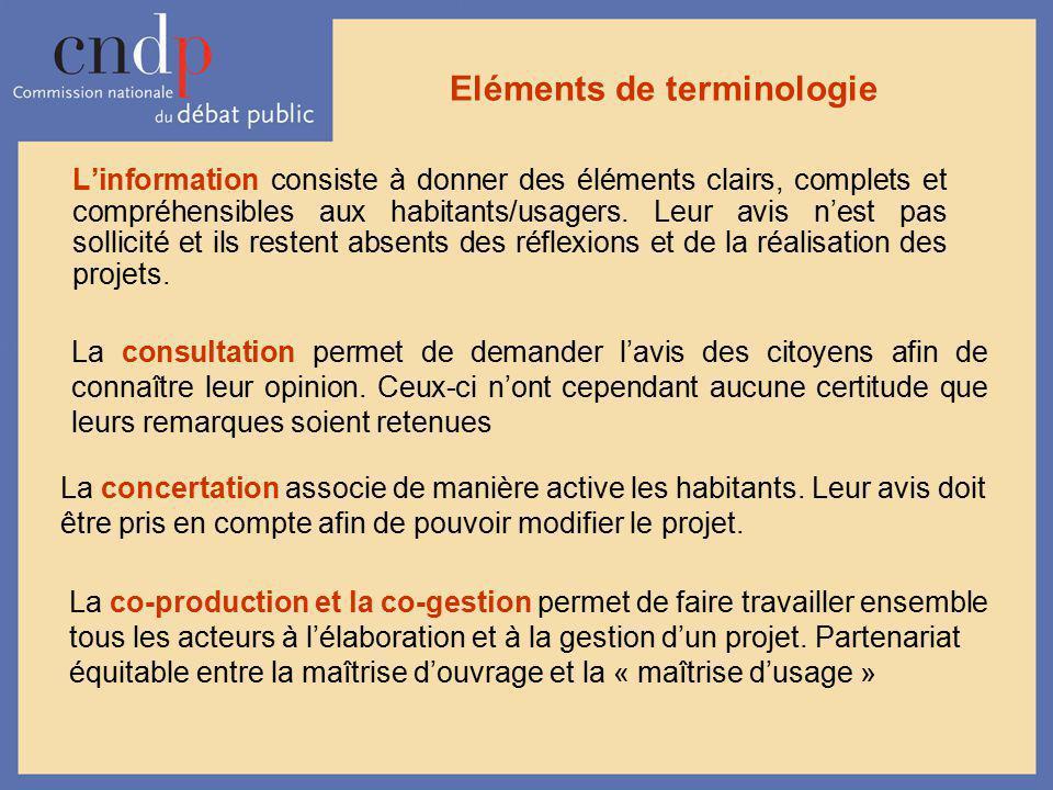 Eléments de terminologie