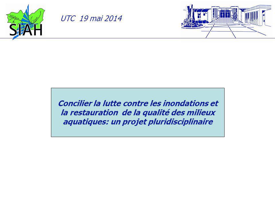Concilier la lutte contre les inondations et la restauration de la qualité des milieux aquatiques: un projet pluridisciplinaire