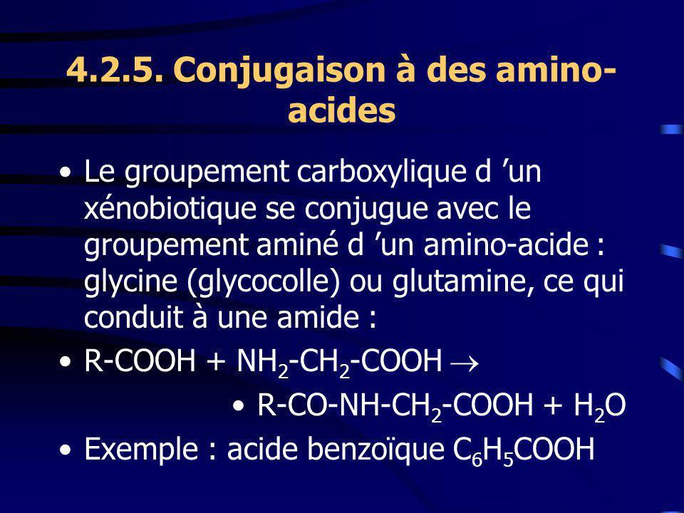 4.2.5. Conjugaison à des amino-acides