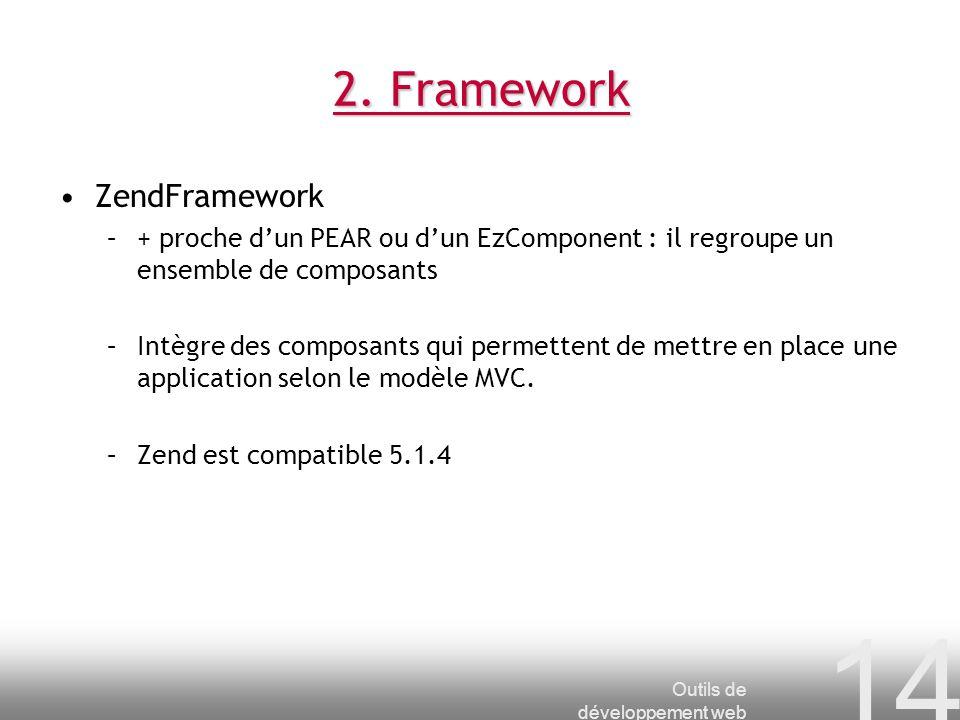 2. Framework ZendFramework