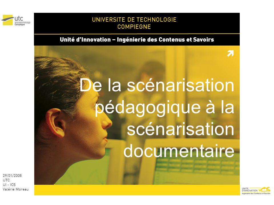 De la scénarisation pédagogique à la scénarisation documentaire