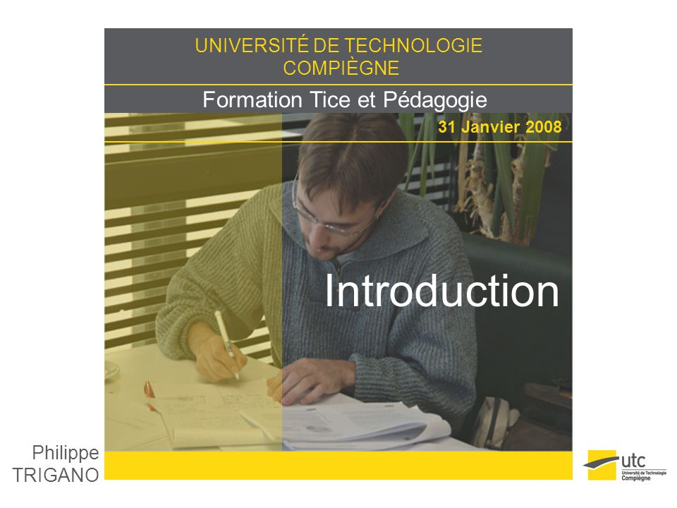 Introduction Philippe TRIGANO