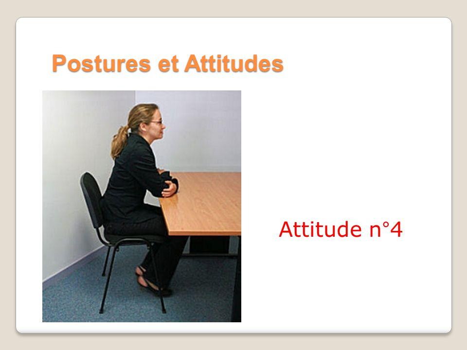 Postures et Attitudes Attitude n°4
